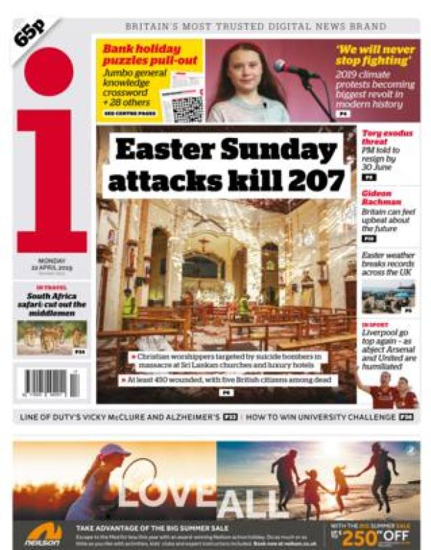 i front page 22/04/19