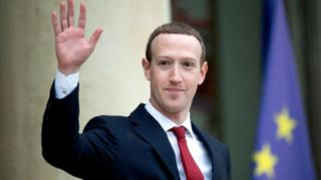 Facebook founder Mark Zuckerberg was in Paris on Friday to meet with French president Emmanuel Macron