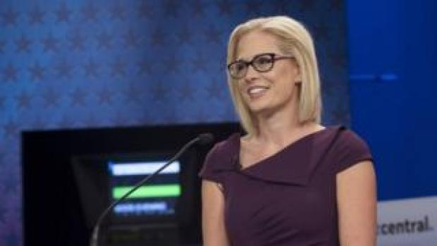 Kyrsten Sinema. File photo