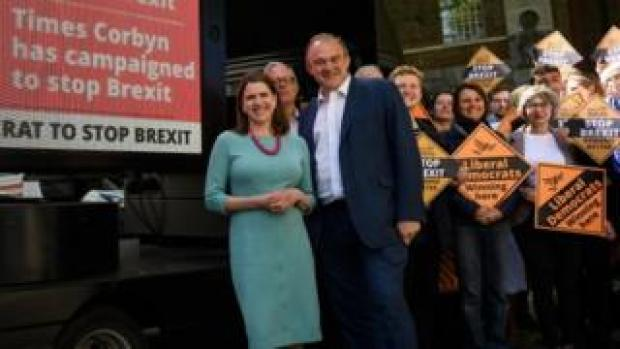 Jo Swinson and Ed Davey