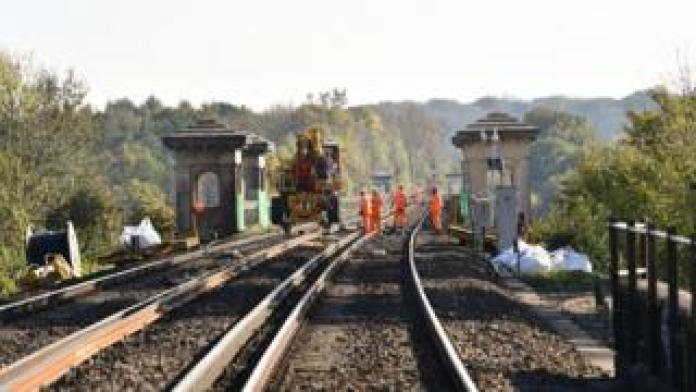 Project to improve the main line of Brighton