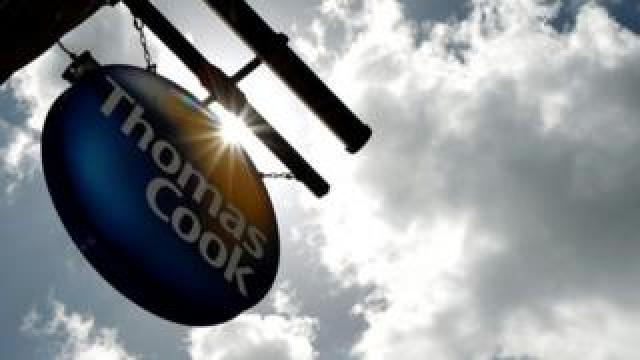 Thomas Cook sign