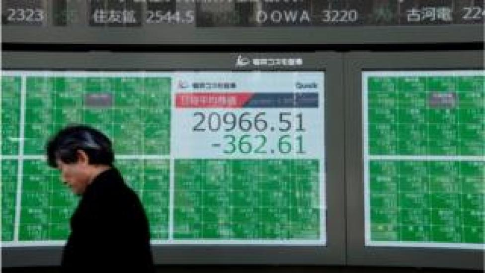 Asian stock markets continue to see volatility.