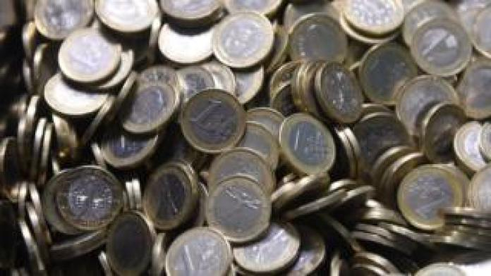 Euro coins, 12 July 2016