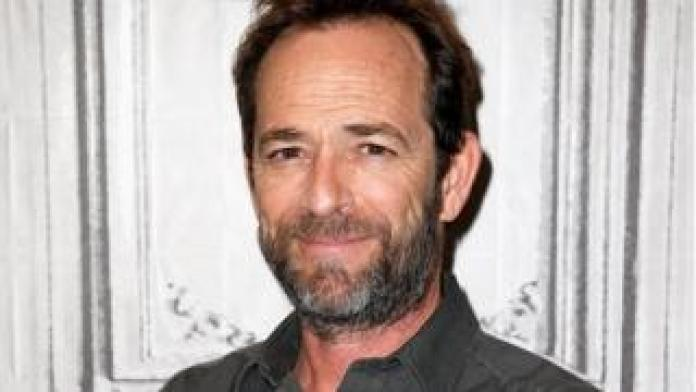 Luke Perry in October 2018