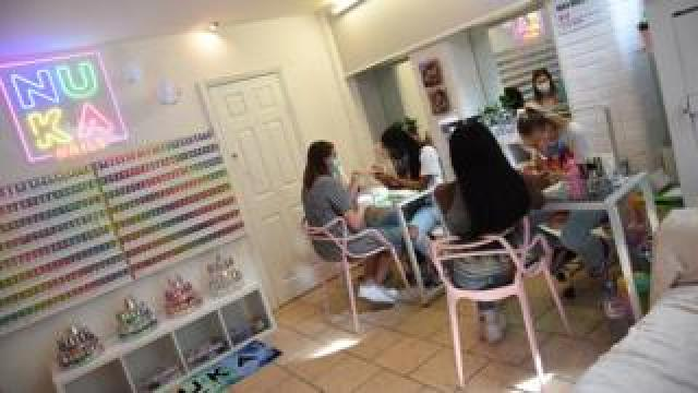NUKA Nails salon in West London