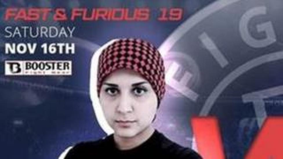 Sai Aletaha fight promotional poster