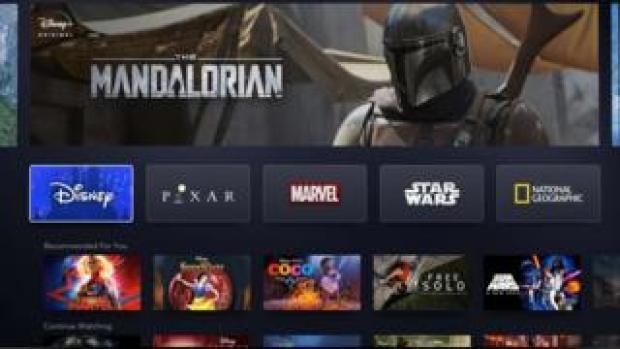 Disney+ logos