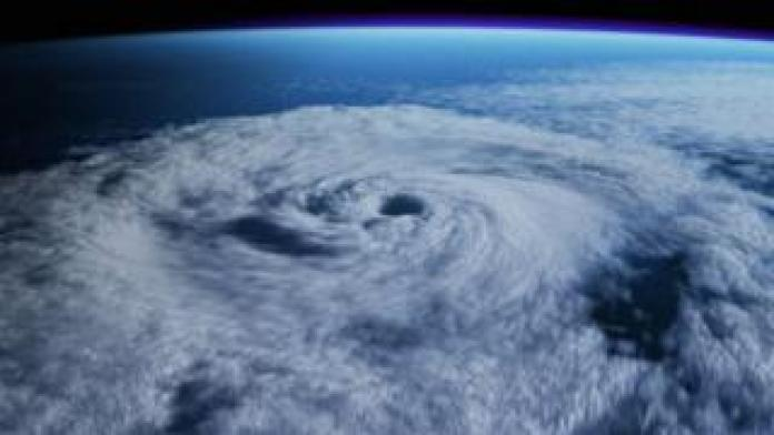 Artist's impression of a superstorm