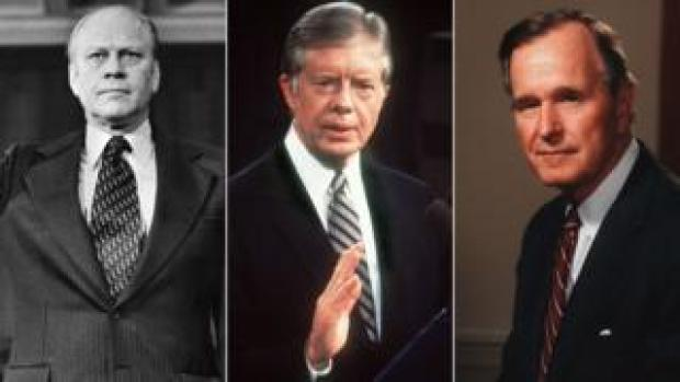Gerald Ford, Jimmy Carter, George HW Bush