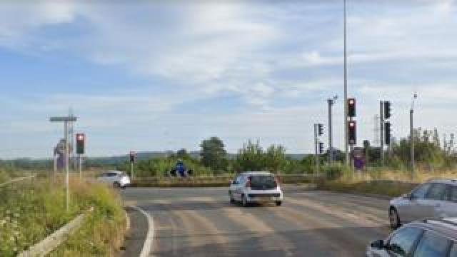 Junction 21, M5 near Weston-super-Mare