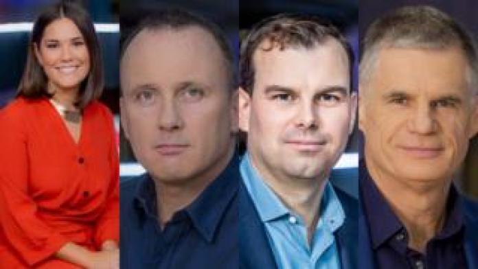 Rebecca Curran und Martin Geissler werden die Show präsentieren, während James Cook als Chief New Correspondent und John Beattie freitags anwesend ist