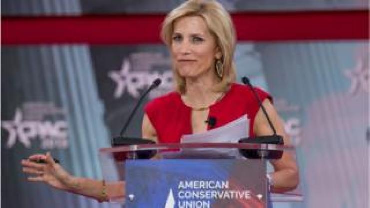 Laura Ingraham at podium