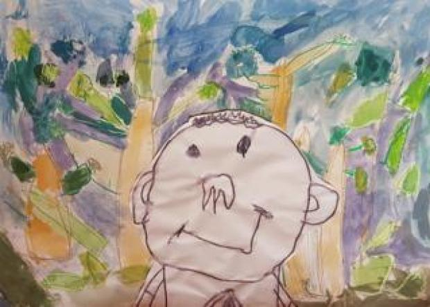 Cassidy's self-portrait