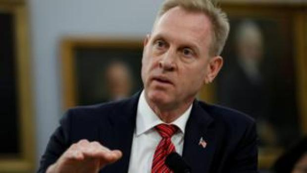 Acting US Defence Secretary Patrick Shanahan testifies before a House Appropriations Defense Subcommittee hearing