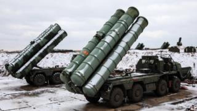 Russian S-400s in Ukraine's Crimea peninsula. Photo: November 2018