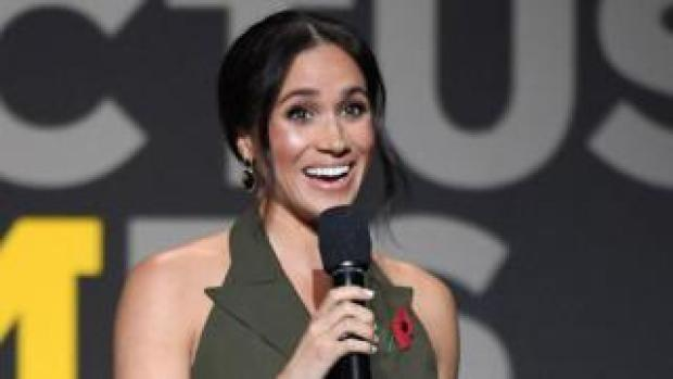 The Duchess of Sussex at the Invictus Games 2018