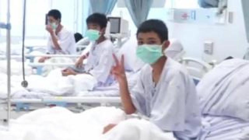 Thai boys recovering in hospital