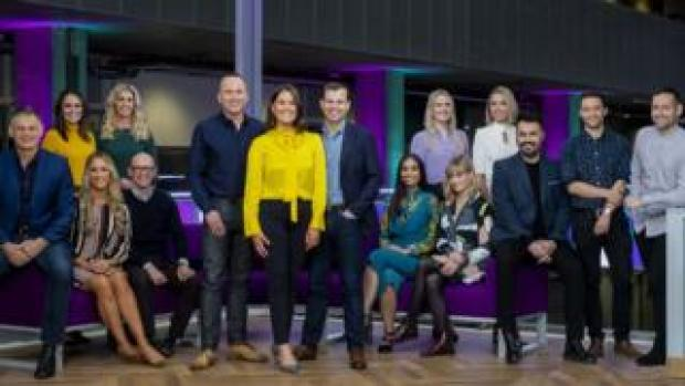 The Nine presenters and reporters