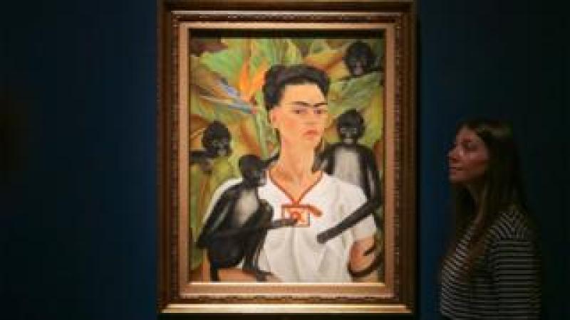 Frida Kahlo's Self-Portrait with Monkey