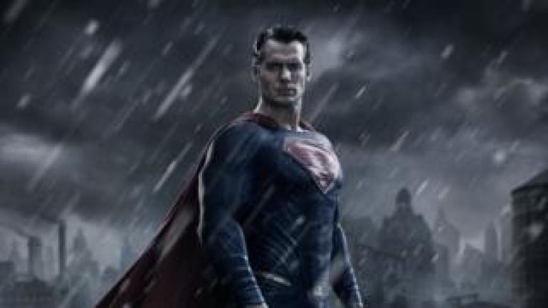 Henry Cavill comme Superman