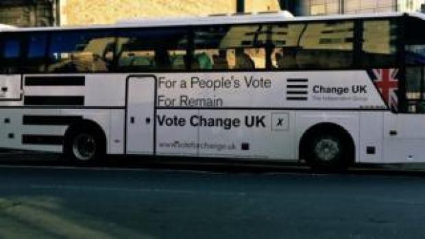 Change UK battle bus