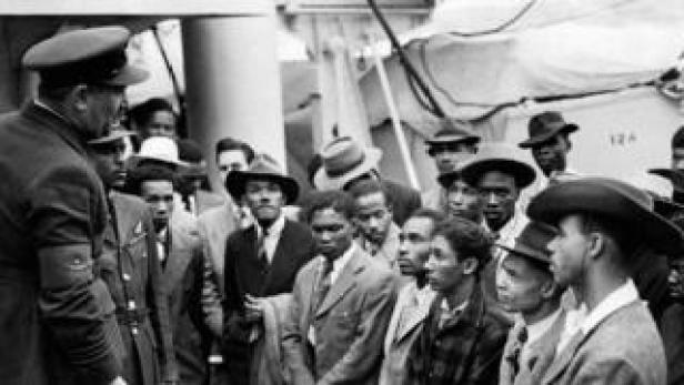 Empire Windrush circa 1948