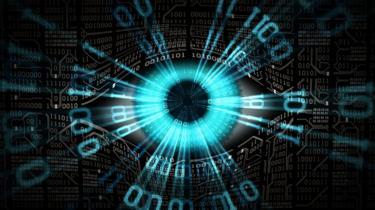 Imagem simbolizando tráfego de dados