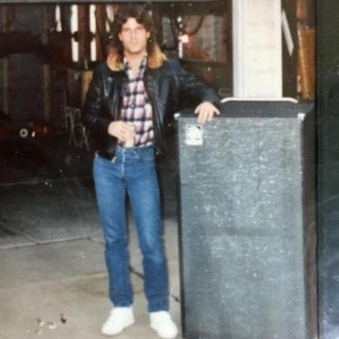 Paul with long hair