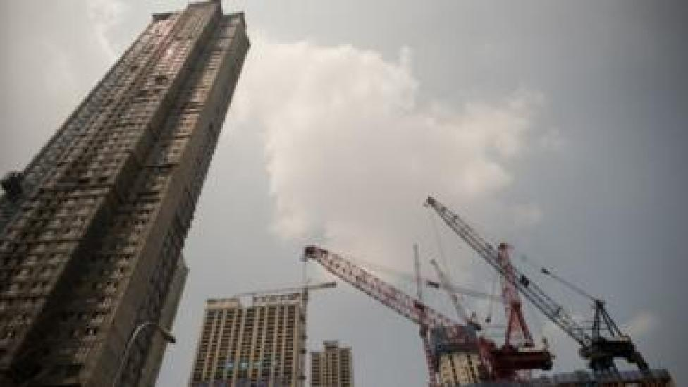 A construction site in Shenyang