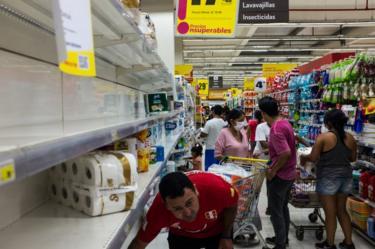 Supermercado en Lima.