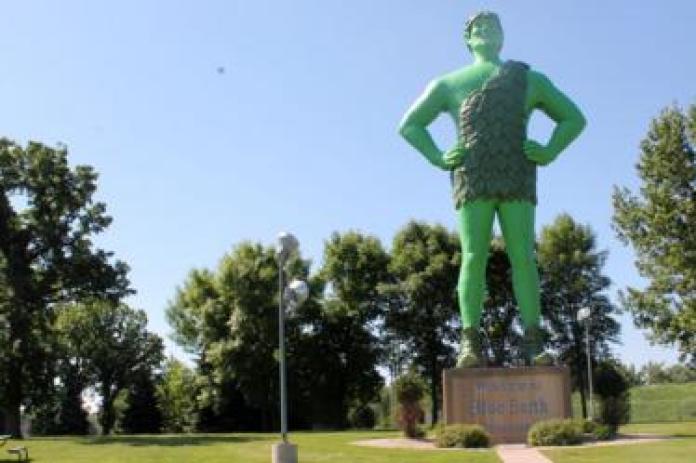 Green Giant, Blue Earth