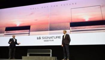 CES 2019: LG's roll-up TV to be released to public