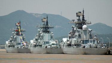 Tàu chiến thuộc hạm đội Đông Hải, Trung Quốc