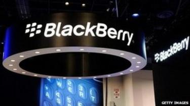 Blackberry sign