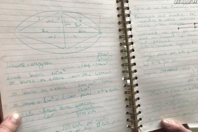 Jo's initial notes and workings