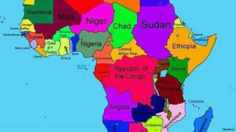 Map on Ethiopia's information ministry which showed Somalia was incorporated within it borders