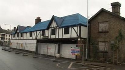 Dad S Army Hotel In Thetford Demolished Bbc News