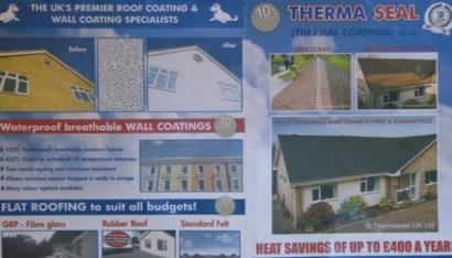 bor roofing therma seal bosses jailed for fake thermal roof paint con bbc news