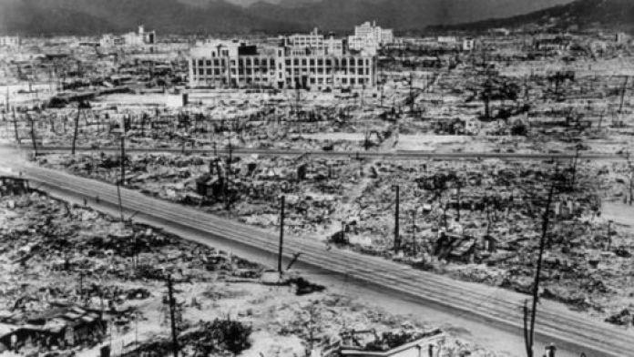एटम बम, नागासाकी, द्वितीय विश्व युद्ध, हिरोशिमा