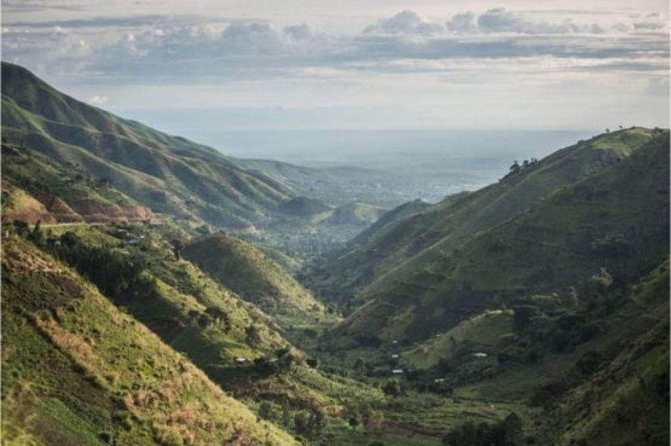 Las montañas Rwenzori.