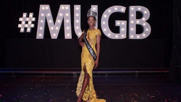 امرأة سوداء تتوج بلقب ملكة جمال بريطانيا للمرة الأولى