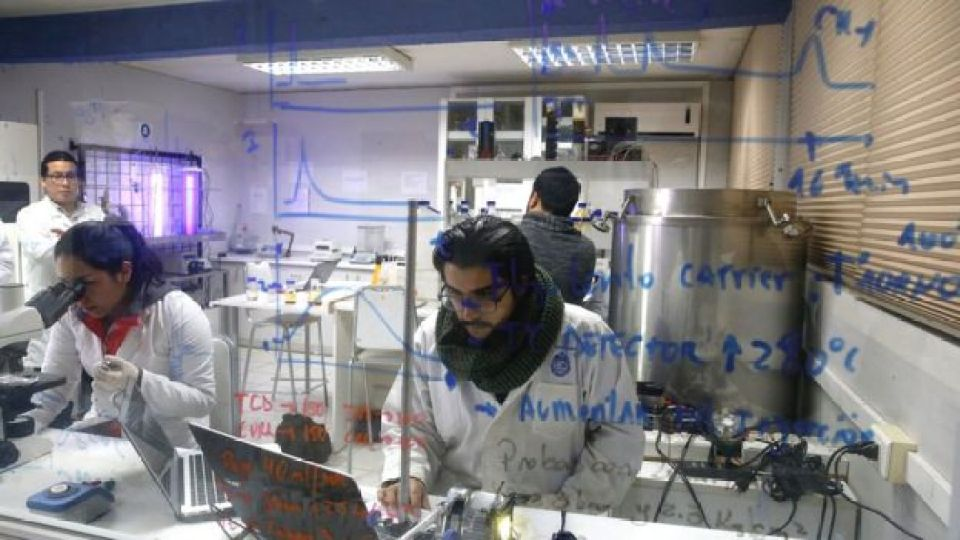 Laboratorio Pontificia Universidad Católica de Chile.