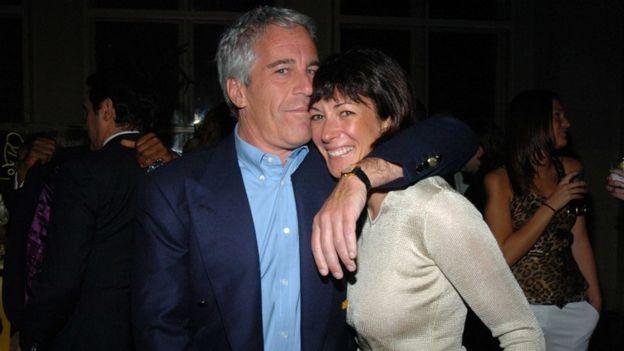 Jeffrey Epstein et Ghislaine Maxwell à New York en 2005