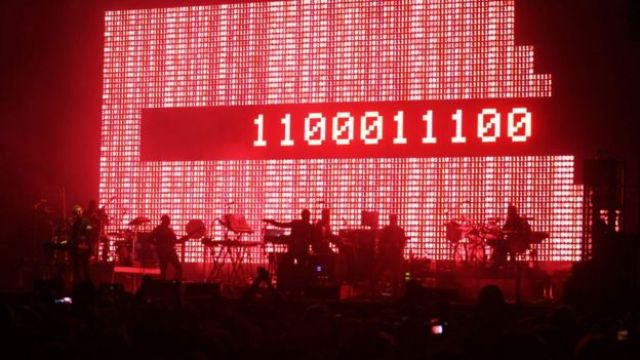 The band Massive Attack have been experimenting with AI to create unique pieces of art