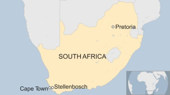 Map of South Africa