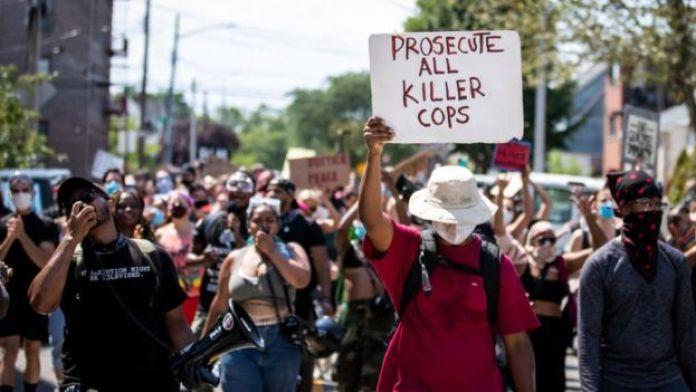 Protesto pela morte de George Floyd