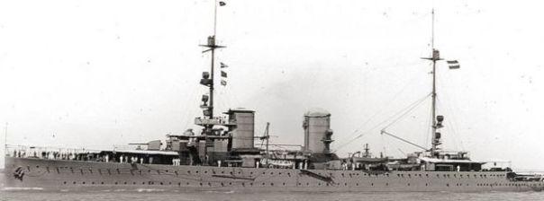 Imagen del HNLMS Java