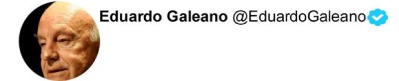 Twitter Galeano