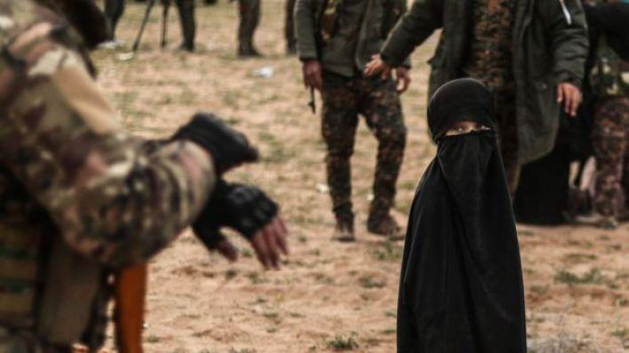طفلة بعد سقوط تنظيم الدولة